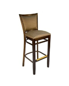 Upholstered Lattice Barstool