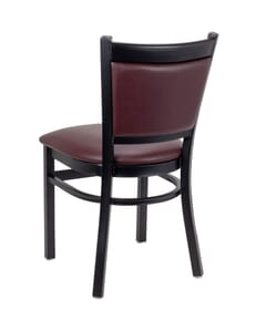 Gino Metal Upholstered Side Chair