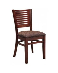 Narrow-Slat Back Side Chair