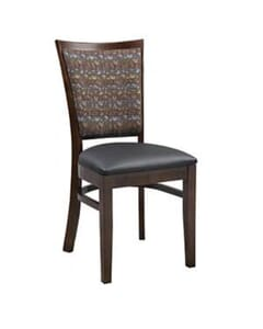 Milan Side Chair with Upholstered Seat and Back