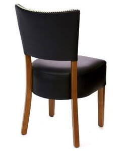 Fully Upholstered Deluxe Dining Chair with Nailhead Trim