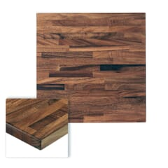 South American Walnut Solid Wood Restaurant Table Top