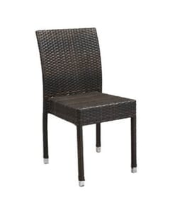 Aluminum and PE Weave Patio Chair
