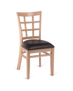 Eco Beachwood Lattice Side Chair