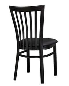 Vertical Metal Side Chair