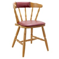 Upholstered Back Captain Mate Chair
