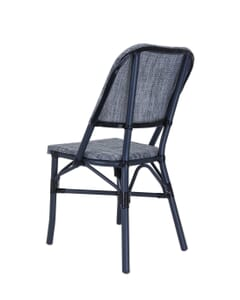 Aluminum Frame with Charcoal Look Outdoor Chair