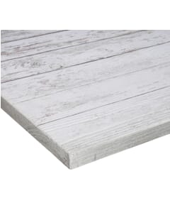 Antique White High-Density Composite Rustic Tabletop