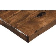 Solid Wood Multi-Species Rustic Plank Table Top
