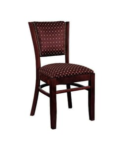 Nailhead Trim Upholstered Side Chair