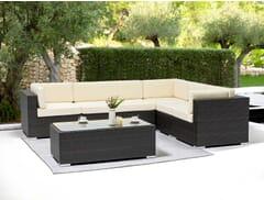 Espresso Wicker Outdoor Lounge Set