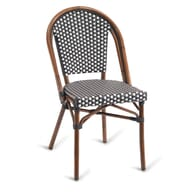 Synthetic Wicker & Bamboo Commercial Outdoor Chair