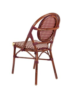 Aluminum Bamboo Look Chair