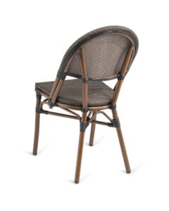 Synthetic Bamboo & Textilene Mesh Commercial Outdoor Chair