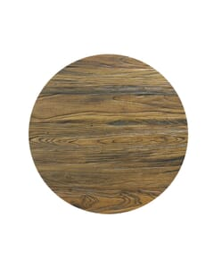 Reclaimed Elm Wood Table Top In Light Walnut