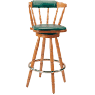 Upholstered Captain Mate Barstool